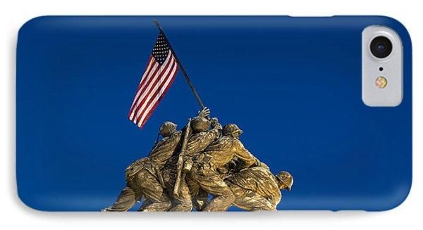 Marine Corps War Memorial IPhone Case by John Greim
