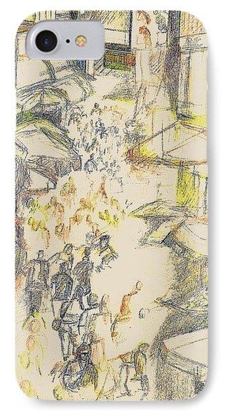 Marketplace IPhone Case by Al Goldfarb