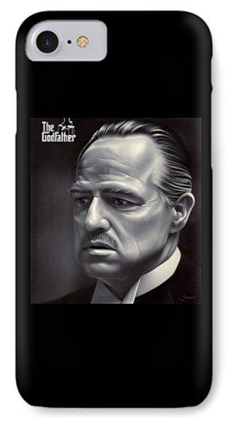 Marlon Brando Drawing  IPhone Case by Jovemini ART
