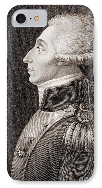 Marquis De Lafayette IPhone Case by American School