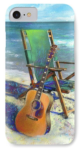 Martin Goes To The Beach IPhone 7 Case by Andrew King