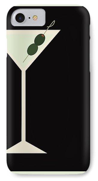Martini IPhone Case by Julia Garcia