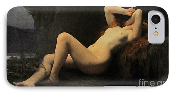 Mary Magdalene In A Grotto IPhone Case by Jules Joseph Lefebvre