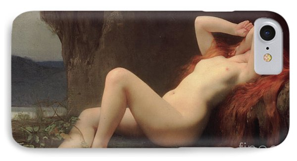 Mary Magdalene In The Cave IPhone Case by Jules Joseph Lefebvre