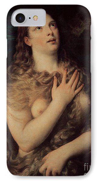 Mary Magdalene Phone Case by Titian