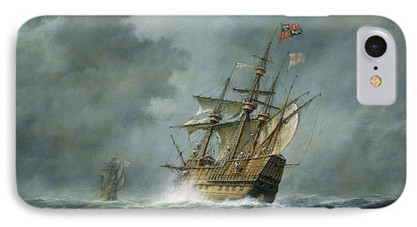 Mary Rose  IPhone 7 Case by Richard Willis