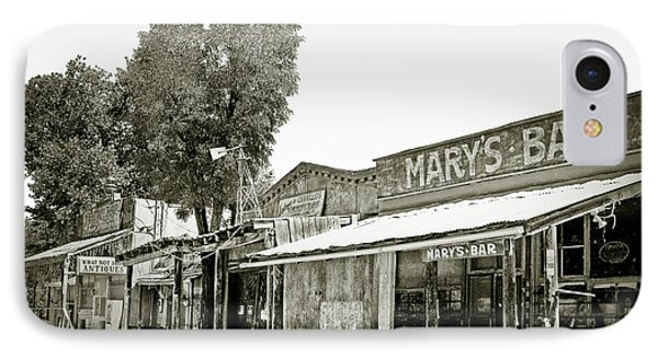 Mary's Bar Cerrillo Nm Phone Case by Christine Till