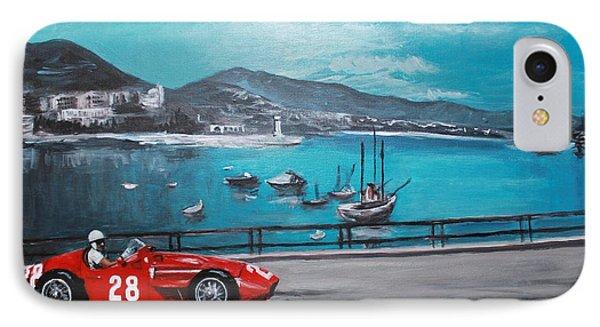 Maserati 250f At Monaco IPhone Case by Jennifer Randall