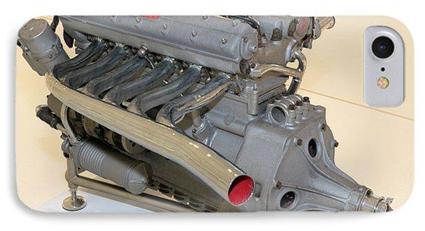 Maserati 250f Engine Rear Enzo Ferrari Museum IPhone Case by Paul Fearn