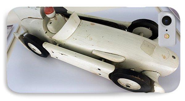 Maserati 250f Wind Tunnel Model Top Enzo Ferrari Museum IPhone Case by Paul Fearn