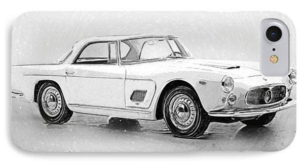 Maserati 3500 Gt IPhone Case by Taylan Apukovska