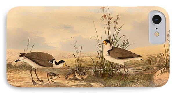 Masked Lapwing IPhone Case by Mountain Dreams