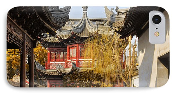 Massive Upturned Eaves - Yuyuan Garden Shanghai China Phone Case by Christine Till