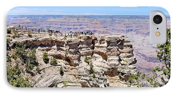 Mather Point At The Grand Canyon Phone Case by Julie Niemela