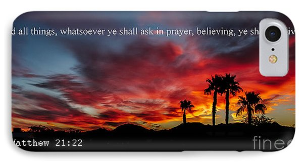 Matthew 21 IPhone Case by Robert Bales