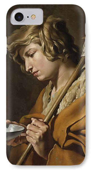 John The Baptist IPhone Case by Celestial Images