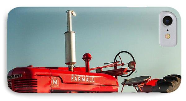 Mccormick-deering Farmall M IPhone Case by Todd Klassy