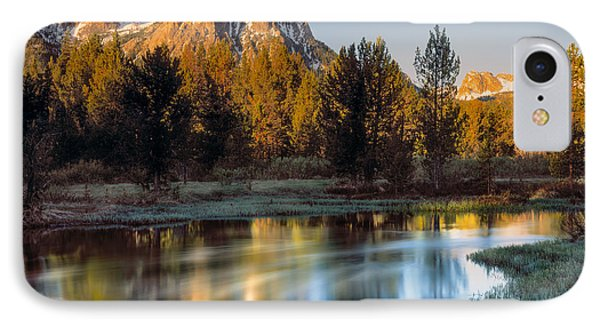 Mcgown Peak Sunrise  IPhone Case by Leland D Howard