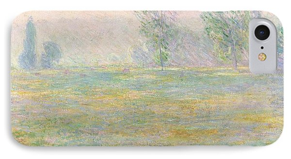 Meadows In Giverny IPhone Case by Claude Monet