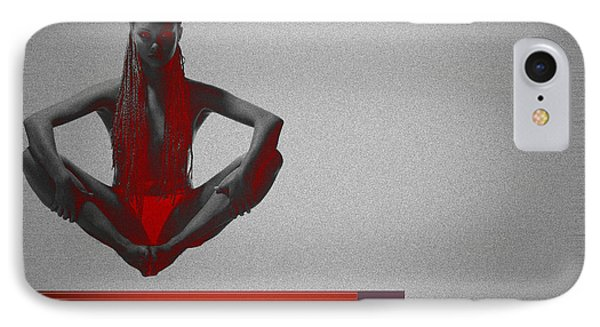 Meditation IPhone Case by Naxart Studio
