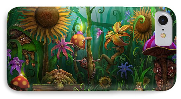 Meet The Imaginaries IPhone Case by Philip Straub