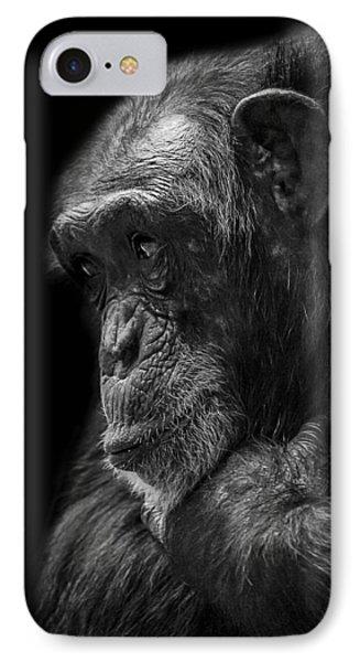 Melancholy IPhone 7 Case by Paul Neville