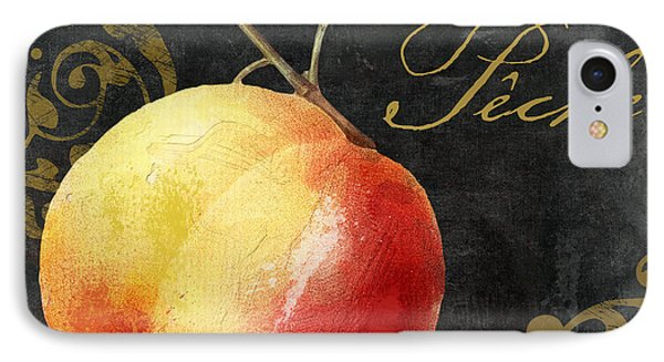 Melange Peach Peche IPhone 7 Case by Mindy Sommers