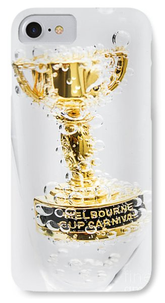 Melbourne Cup Winners Trophy IPhone Case by Jorgo Photography - Wall Art Gallery