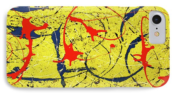 Mellow Yellow IPhone Case by International Artist Brent Litsey