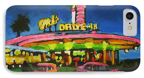 Mels Drive In One IPhone Case by John Malone