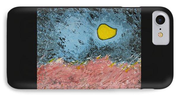 Melting Moon Over Drifting Sand Dunes IPhone Case by Ben and Raisa Gertsberg