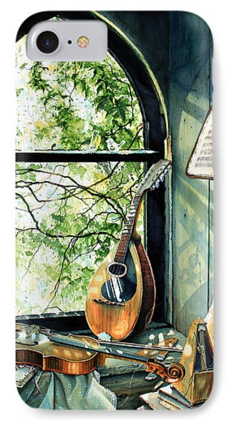 Memories And Music IPhone Case by Hanne Lore Koehler