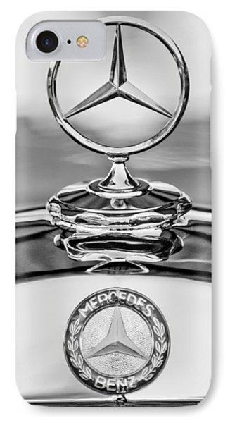Mercedes Benz Hood Ornament 2 IPhone Case by Jill Reger