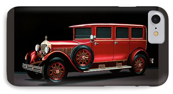 Mercedes-benz Typ 300 Pullman Limousine 1926 Painting IPhone Case by Paul Meijering