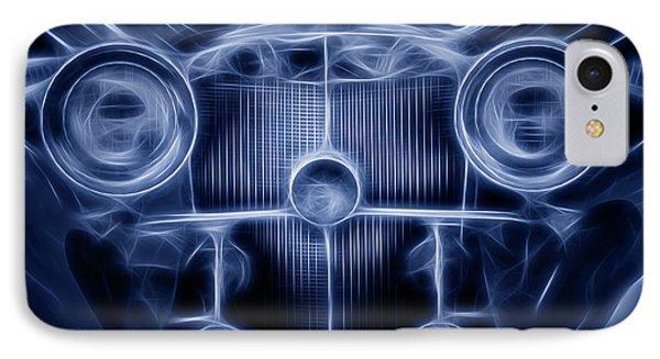 Mercedes Roadster IPhone Case by Tom Mc Nemar