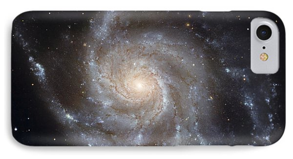 Messier 101, The Pinwheel Galaxy Phone Case by Stocktrek Images