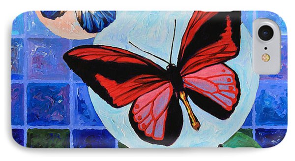 Metamorphosis Of The New Life Phone Case by John Lautermilch