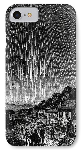Meteor Shower, 1833 Phone Case by Granger