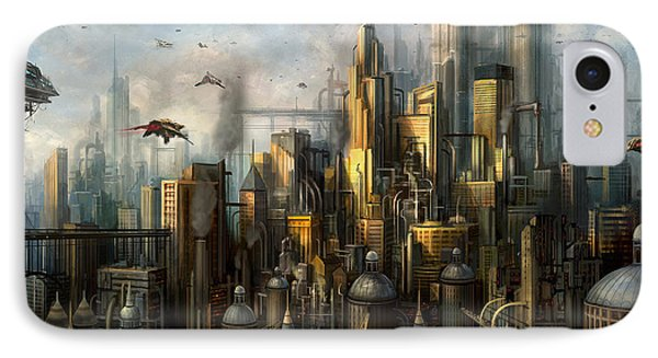 Metropolis IPhone Case by Philip Straub