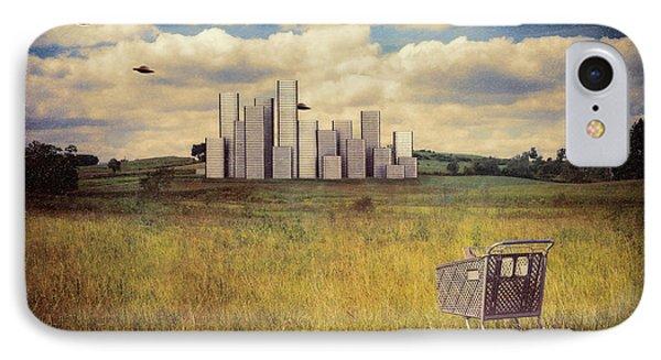 Metropolis IPhone 7 Case by Tom Mc Nemar