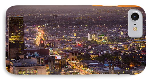 Mexico City Sunset IPhone Case by Inge Johnsson
