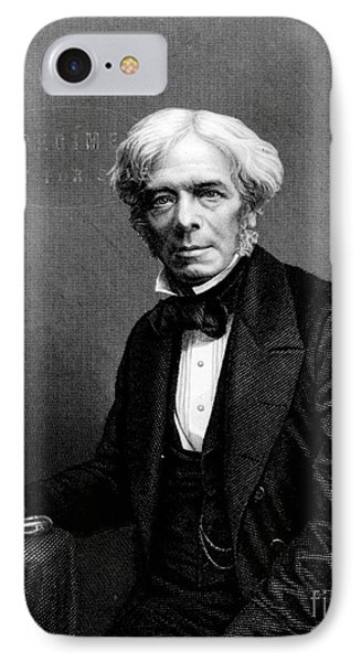Michael Faraday, English Physicist Phone Case by Photo Researchers