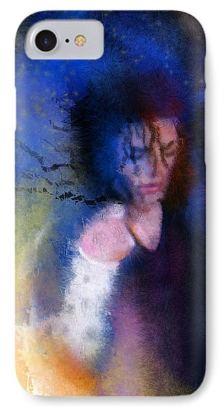 Michael Jackson 16 IPhone Case by Miki De Goodaboom