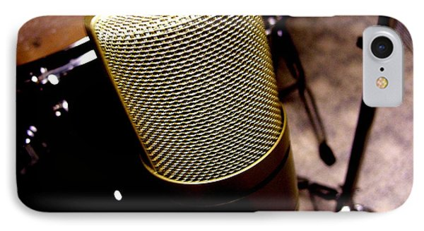 Microphone Phone Case by Michael Grubb