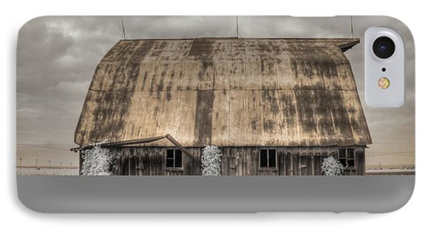 Midwestern Barn IPhone Case by Jane Linders