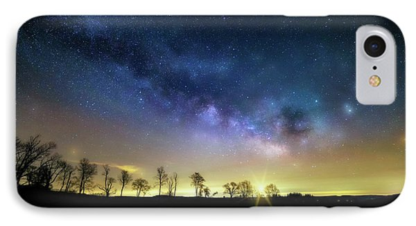 Milky Way Rising IPhone Case by Bill Wakeley