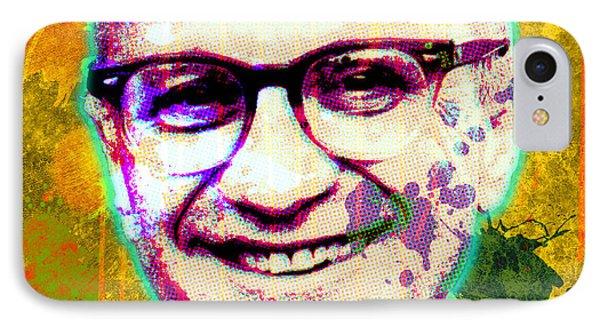Milton Friedman Phone Case by Gary Grayson