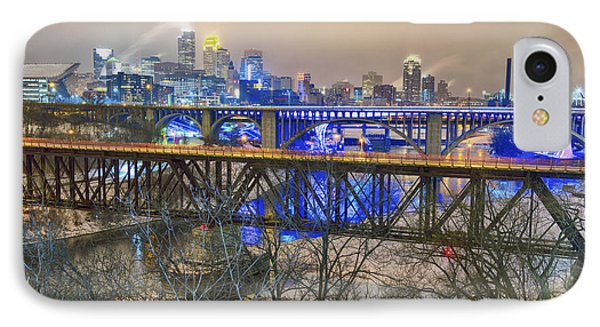 Minneapolis Bridges IPhone 7 Case by Craig Voth