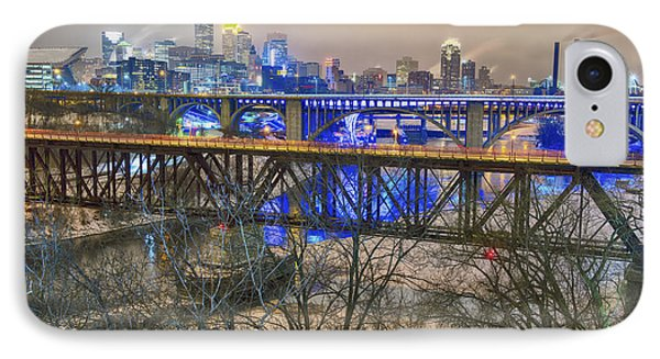 Minneapolis Bridges IPhone Case by Craig Voth