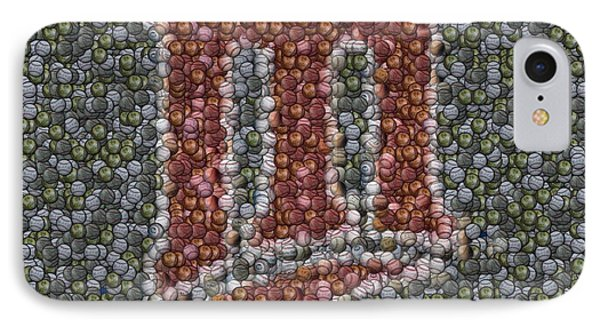 Minnesota Twins Baseball Mosaic IPhone Case by Paul Van Scott